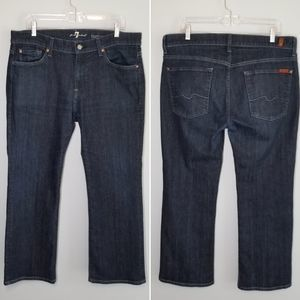 7 For All Mankind bootcut jeans size 36